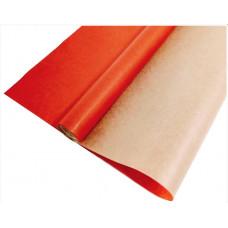 Упаковочная бумага, Крафт (0,7*10 м) Красный, 1 шт.