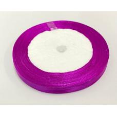 Лента атласная 1см*25ярд фиолетовый