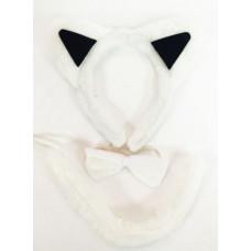 """Карнавальный набор из полиэстера 20*25см """"Котик"""" галстук ободок хвостик"""