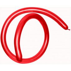 ШДМ (1''/3 см) Красный (015), пастель, 100 шт. Sempertex
