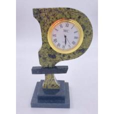 """Часы """"Рубль"""", камень: змеевик"""