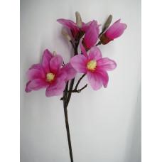 Магнолия без листьев искусственная розовый