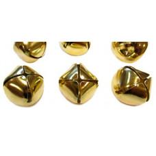 Бубенчики золотые 32 мм (6 шт./уп.)