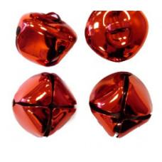 Бубенчики красные 35 мм (6 шт./уп.)
