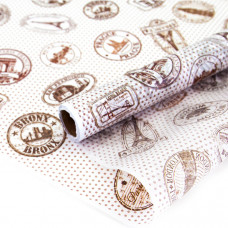 Упаковочная бумага тишью (0,7*10 м) Круиз, 1 шт.