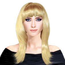 "Парик ""Супер Медиум"" Блондинка Веселуха"