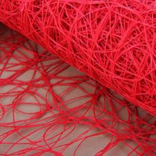 Сизаль 53см*5,5м красный