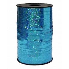 Лента Полипропилен голография 0.5см*250м голубой