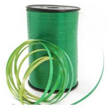 Лента (0,5 см*500 м) Зеленый/Желтый, 1 шт.