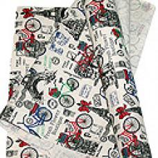 Ткань декор. 11/02 искуств. лен boutique in Paris 48см*4.5м Fabric 11/02