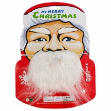 "Набор новогодний ""Санта"" борода брови Весёлый Праздник"