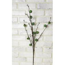 Ветка с плодами оливы (зел или чёрн) 90см