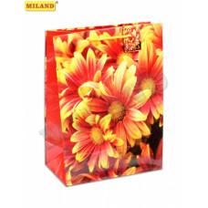 """Пакет подарочный """"Солнечные цветы"""" L 1шт ПП-7564/1"""