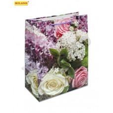 """Пакет подарочный """"Цветочный вальс"""" L 1шт ПП-7484/1"""