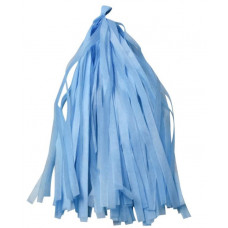 Гирлянда Тассел, Голубой, 35*12 см, 12 листов