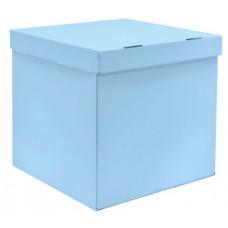 Коробка для воздушных шаров, Голубой, 70*70*70 см, 1 шт