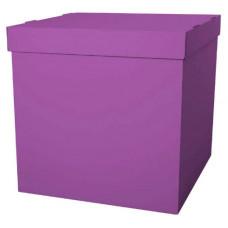 Коробка для воздушных шаров, Фуксия, 70*70*70 см, 1 шт
