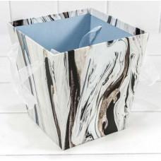 Коробка для цветов Дизайнерский, 17*17*18 см, 1 шт.