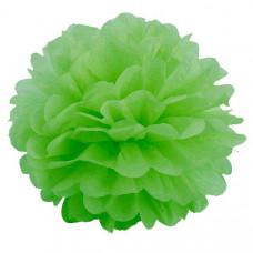Декоративное украшение, Помпон, Зеленый, 30 см.