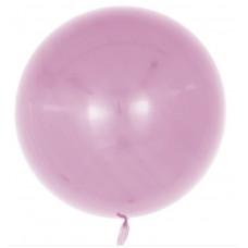 Шар (18''/46 см) Сфера 3D, Deco Bubble, Пыльная роза, Глянец, 1 шт. Falali