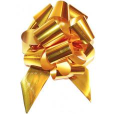 Бант-шар огромный металл золото