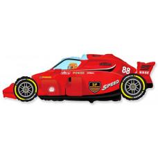 Шар (36''/91 см) Фигура, Формула 1, Красный, 1 шт. Flexmetal