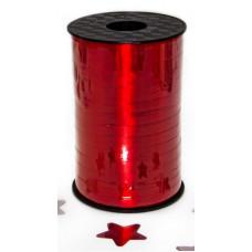Лента (0,5 см*250 м) Рубин, Металлик, 1 шт.