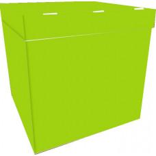 Коробка для воздушных шаров Зелёный, 70*70*70 см, 1 шт.