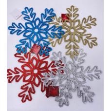 """Декоративное украшение """"Снежинка"""" 30 см в ассортименте 1 шт."""