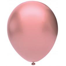 Шар (5''/13 см) Розовое золото (926), металлик, 100 шт. Орбиталь