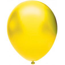 Шар (5''/13 см) Желтый (902), металлик, 100 шт. Орбиталь