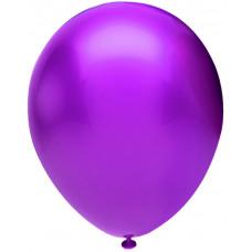 Шар (5''/13 см) Фиолетовый (910), металлик, 100 шт. Орбиталь