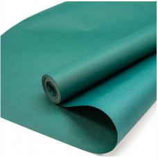 Упаковочная бумага, Крафт 70гр (0,7*10 м) Изумрудный, 1 шт.