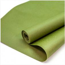 Упаковочная бумага, Крафт 70гр (0,7*10 м) Зеленый, 1 шт.