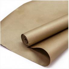 Упаковочная бумага, Крафт 70гр (0,7*10 м) Золото, 1 шт.