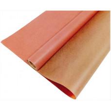 Упаковочная бумага, Крафт (0,7*10 м) Розовый, 1 шт.
