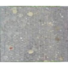 """Лента новогодняя из полиэстера 11.3*270см """"Серебряное конфетти"""" на картонной катушке"""