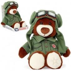 """Мягкая игрушка 25см """"Медведь Лётчик"""" 2288-4/КЧ/25"""