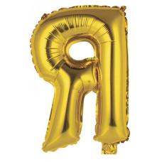 """Шар фольгированный (14'') Буква """"Я"""" в упаковке, золото, 1 шт. Весёлая затея"""