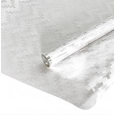 Упаковочная пленка (0,7*7,5 м) Шеврон, Белый, 1 шт.