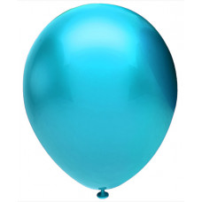 Шар (12''/30 см) Голубой (905), металлик, 50 шт. Орбиталь