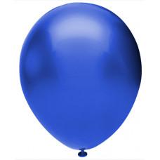 Шар (12''/30 см) Синий (904), металлик, 50 шт. Орбиталь