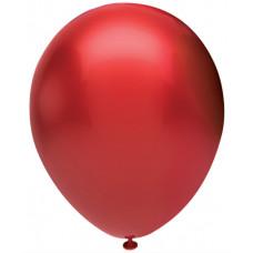 Шар (12''/30 см) Красный (903), металлик, 50 шт. Орбиталь