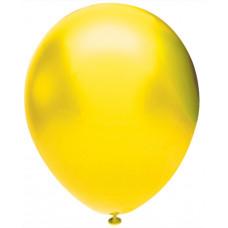 Шар (12''/30 см) Желтый (902), металлик, 50 шт. Орбиталь