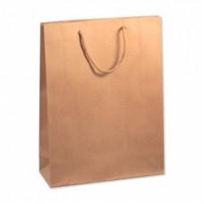 Пакет подарочный, Крафт, 31*42*10 см, 1 шт.