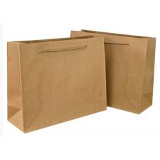 Пакет подарочный, Крафт, 14*11*6 см, 12 шт.