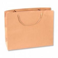 Пакет подарочный, Крафт, 34*27*9 см, 1 шт.