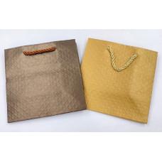 Пакет подарочный, Классика, в ассортименте, 15*15*8 см, 1 шт.