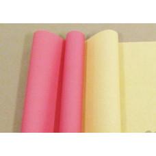 Бумага матовая двухсторонняя 70см*10м±10см красно-жёлтый