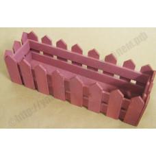 Ящик декоративный деревянный №4 490*150*h140 коричневый